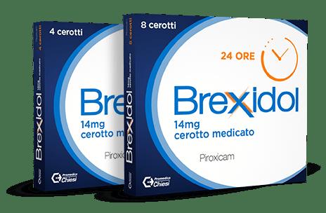Confezione Brexidol cerotto medicato